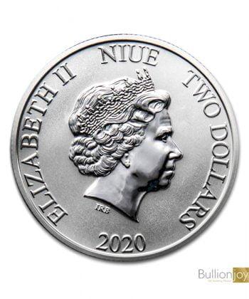2020 1oz Mickey & Pluto Disney Silver Bullion Coin Bullionjoy