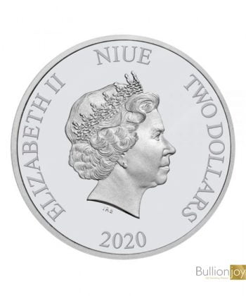 2020 1oz Star Wars Death Star Silver Coin