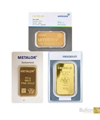 Best Value 100 Grams Pure Gold Bar