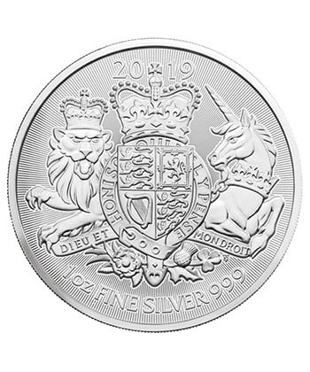 2020 British Silver Royal Arms