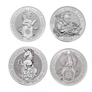 10 oz Silver Coins From The Royal Mint- Bullionjoy