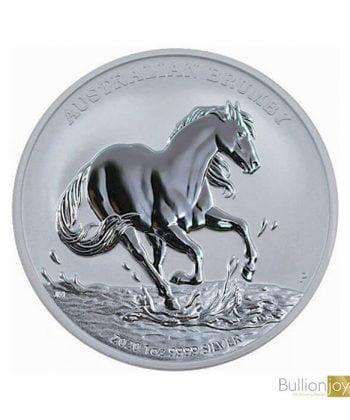 2020 1oz Australian Brumby Horse Silver Coin