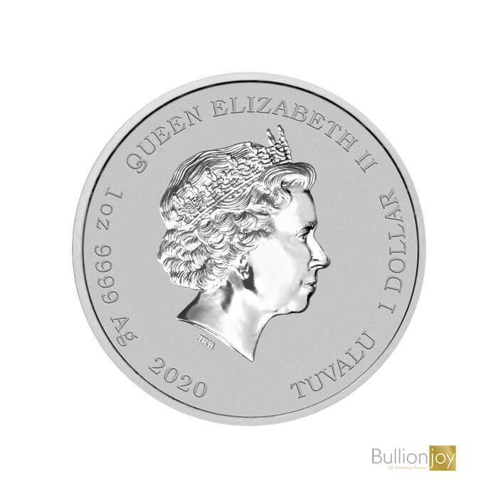 2020 1oz Bart Simpsons Silver Coin Bullionjoy