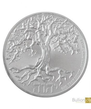 2020 1oz Tree of Life Silver Coin