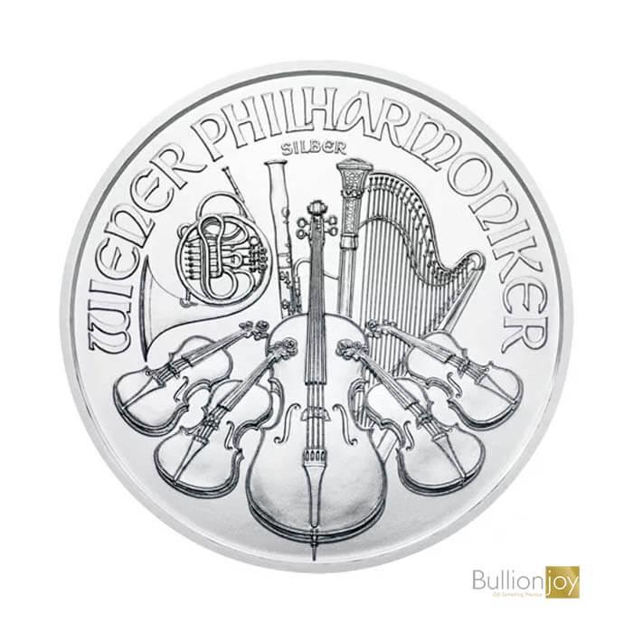 2021 1oz Austrian Silver Philharmonic Coin