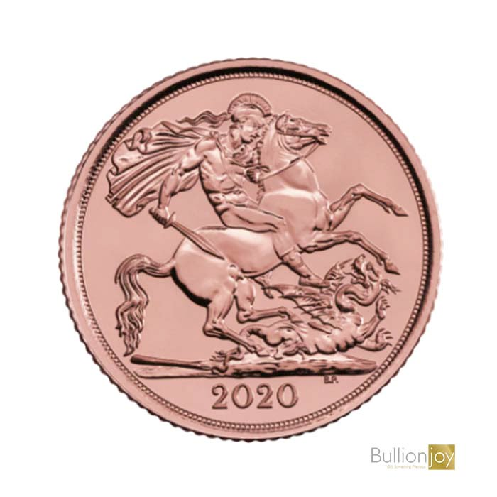 2020 Gold Half Sovereign St George and The Dragon