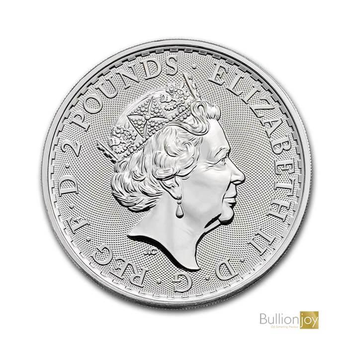 2021 1oz Silver Britannia Coin