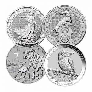 2021 Silver Coins -Bullionjoy