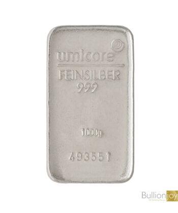 1 Kilo Umicore Silver Bar