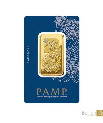 1 ounce PAMP Fortuna Veriscan Gold Bar