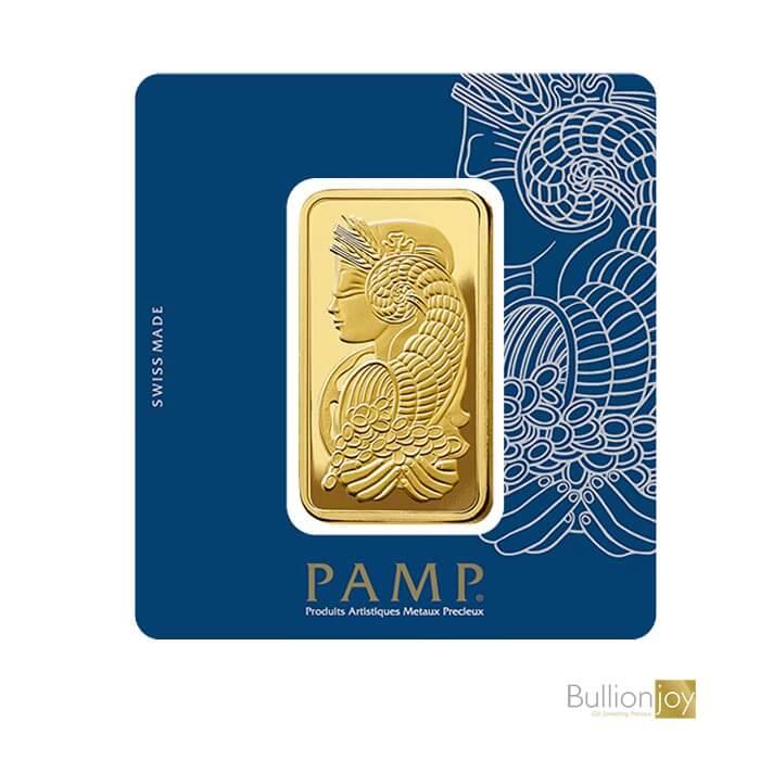 100gram PAMP Sussie Fortuna Veriscan Gold Bar