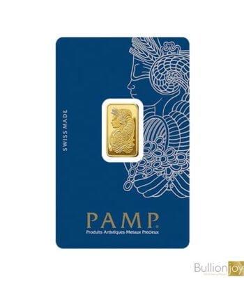 10gram PAMP Fortuna Veriscan Gold Bar