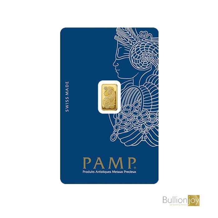 1g PAMP Fortuna Veriscan Gold Bar