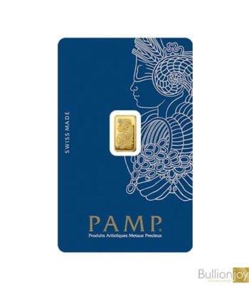 2.5g PAMP Fortuna Veriscan Gold Bar