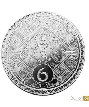 2020 1oz Tokelau Chronos $6 Silver Coin