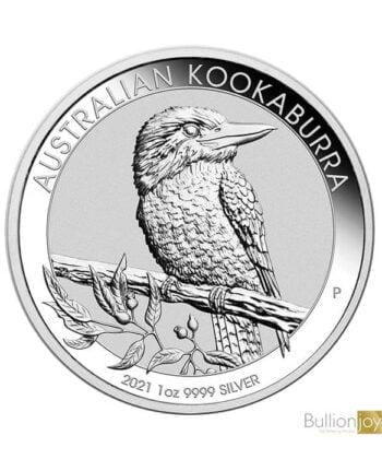 2021 1 oz Australian Kookaburra Silver Coin