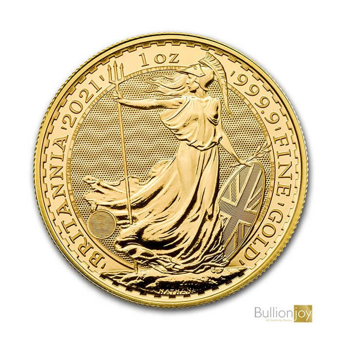 2021 1oz Gold Britannia Coin
