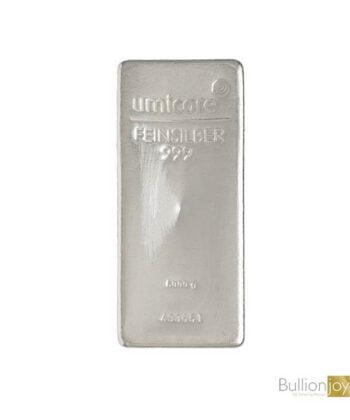 5000 gram (5 Killo) Umicore Silver Bar