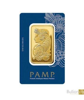 50gram PAMP Fortuna Veriscan Gold Bar