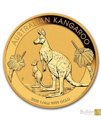 2020 1/4 oz Australian Kangaroo Gold Coin