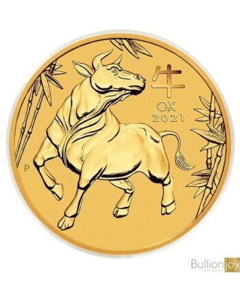 2021 1/4 oz Australian Lunar Ox Gold Coin