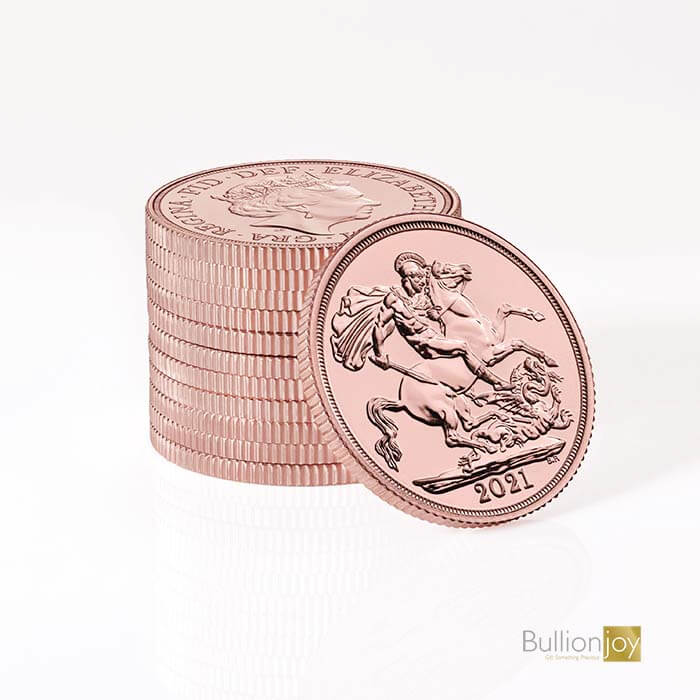 Proof Gold Sovereign Coins