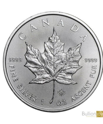 2021 1oz Canadian Maple Leaf Silver Bullion Coin