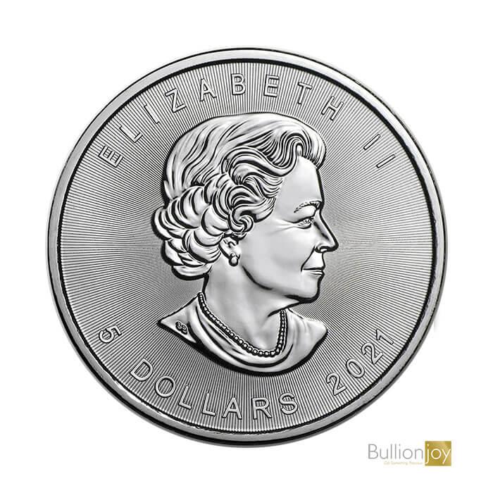 2021 1oz Canadian Maple Leaf Silver Bullion Coin