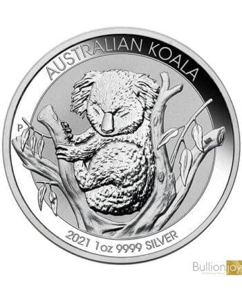 2021 1oz Koala Silver Coin