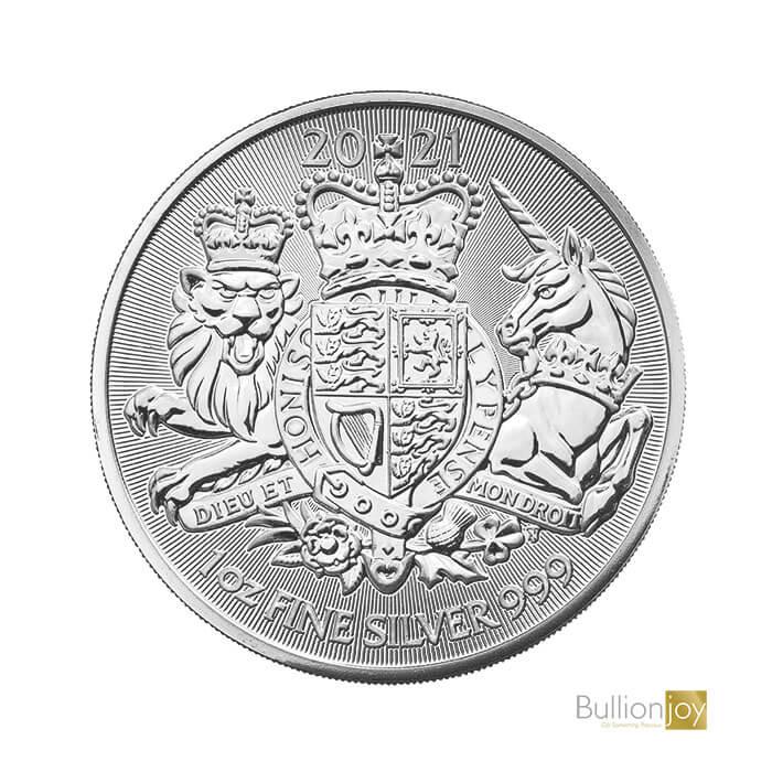 2021 1oz The Royal Arms Silver Bullion Coin