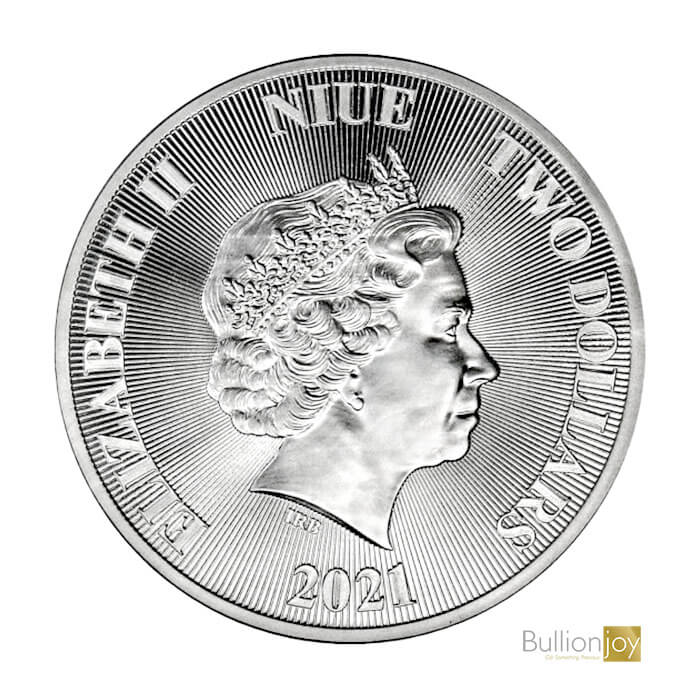 2021 1oz Tree of Life Silver Coin
