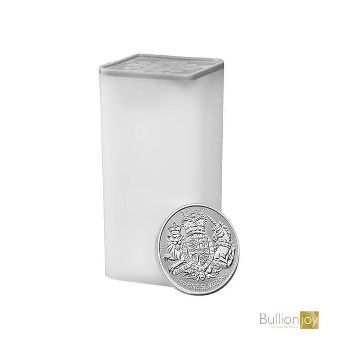 2021 1oz The Royal Arms UK Silver Coin