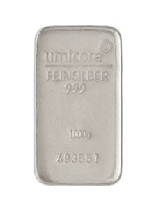 Inflation in silver and gold bullion prices